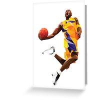 Kobe Bryant Greeting Card