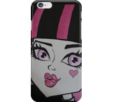 Draculaura iPhone Case/Skin