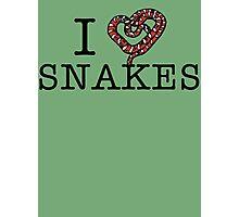 I love snakes! Photographic Print