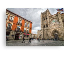 Avila Cathedral Canvas Print