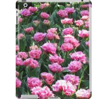 Parade of Pinks - Tulips in the Keukenhof Gardens iPad Case/Skin