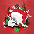 Skull Christmas - Red Mark II by KitsuneDesigns