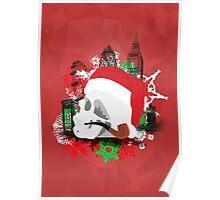 Skull Christmas - Red Mark II Poster