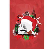 Skull Christmas - Red Mark II Photographic Print