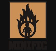 MINIFIG IN FLAME LOGO One Piece - Long Sleeve