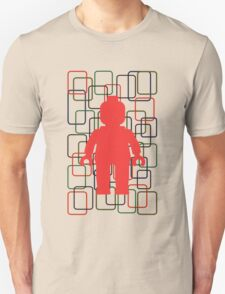 MINIFIG IN FRONT OF RECTANGLES T-Shirt