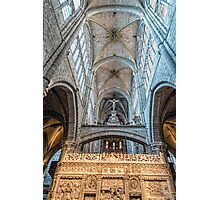 Vaults of Avila Cathedral Photographic Print