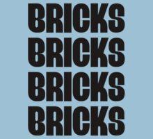 """BRICKS BRICKS BRICKS BRICKS "" Customize My Minifig One Piece - Short Sleeve"