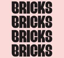 """""""BRICKS BRICKS BRICKS BRICKS """" Customize My Minifig Kids Clothes"""