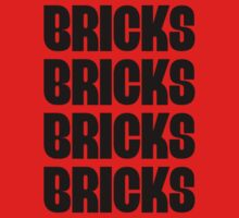 """BRICKS BRICKS BRICKS BRICKS "" Customize My Minifig One Piece - Short Sleeve"