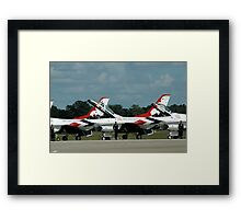 Flight Line Framed Print