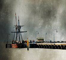 Portarlington Pier #8 by Tracy Edgar