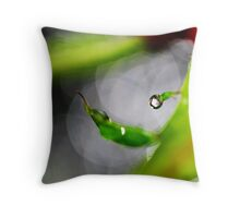 one precious drop Throw Pillow