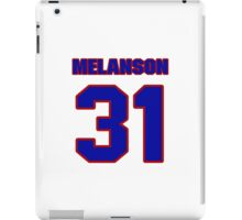 National Hockey player Roland Melanson jersey 31 iPad Case/Skin