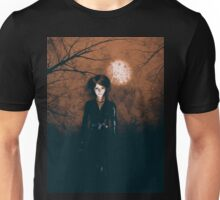 Halloween Night Girl Unisex T-Shirt