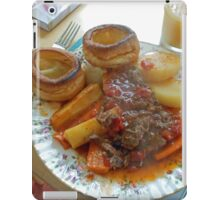 A Yorkshire Pudding Dinner iPad Case/Skin