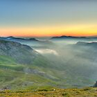 Newlands Valley from Dale Head by Rich Gale