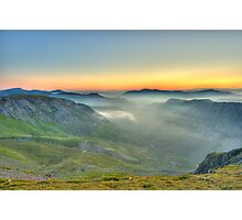 Newlands Valley from Dale Head Photographic Print