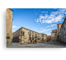Cathedral Square in Avila Canvas Print