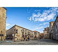 Cathedral Square in Avila Photographic Print
