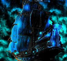 Pirates of the Caribbean-The Black Pearl by augustinet