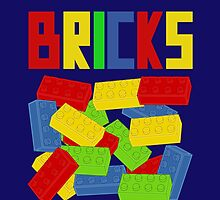 Colored Bricks by ChilleeW