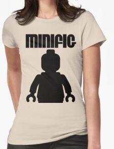 Retro Large Black Minifig, Customize My Minifig T-Shirt