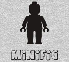Minifig [Black], Customize My Minifig Kids Tee