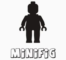 Minifig [Black], Customize My Minifig by Customize My Minifig