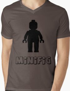 Minifig [Black], Customize My Minifig Mens V-Neck T-Shirt