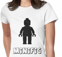 Minifig [Black], Customize My Minifig Womens Fitted T-Shirt