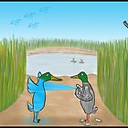 Duck Hunting Cartoon by David Stuart