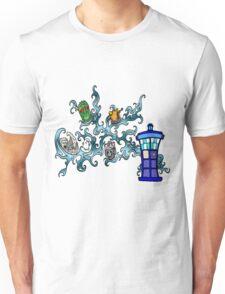 Tardis Bad Guys Unisex T-Shirt