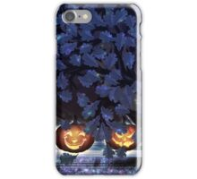 Halloween night oak iPhone Case/Skin