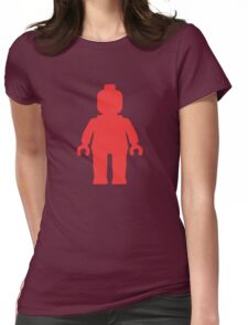 Minifig [Red], Customize My Minifig Womens Fitted T-Shirt