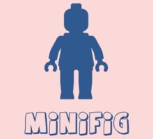 Minifig [Blue], Customize My Minifig Kids Clothes