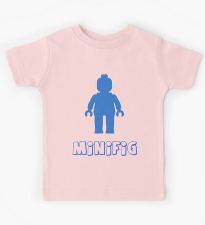 Minifig [Blue], Customize My Minifig Kids Tee