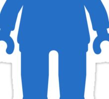 Minifig [Blue], Customize My Minifig Sticker