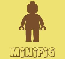 Minifig [Brown], Customize My Minifig One Piece - Short Sleeve