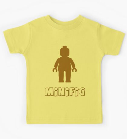 Minifig [Brown], Customize My Minifig Kids Tee