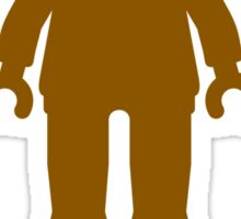 Minifig [Brown], Customize My Minifig Sticker