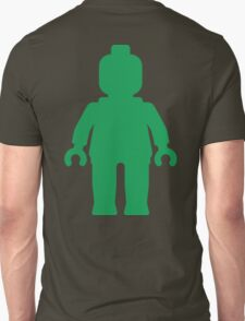Minifig [Large Green] T-Shirt