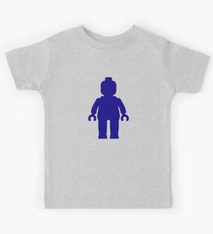 Minifig [Dark Blue], Customize My Minifig Kids Tee
