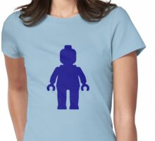 Minifig [Dark Blue], Customize My Minifig Womens Fitted T-Shirt