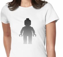 Minifig [Silver],  Customize My Minifig Womens Fitted T-Shirt