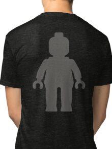 Minifig [Large Dark Grey], Customize My Minifig Tri-blend T-Shirt