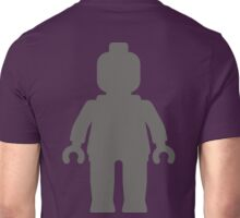 Minifig [Large Dark Grey], Customize My Minifig Unisex T-Shirt