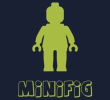 Minifig [Lime Green], Customize My Minifig Kids Tee