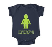 Minifig [Lime Green], Customize My Minifig One Piece - Short Sleeve
