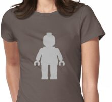 Minifig [Light Grey], Customize My Minifig Womens Fitted T-Shirt